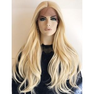 "26"" Blonde Wig #613 Long Beach Wavy